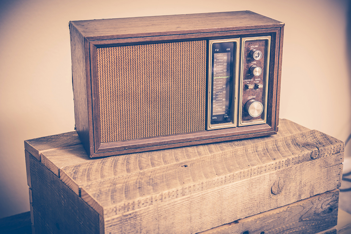 brand exposure old radio image