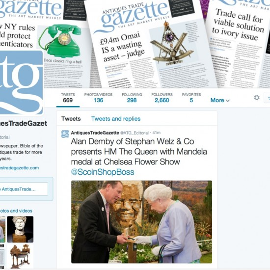 Antiques Trade Gazette - Twitter