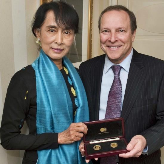 Aung San Suu Kyi, Oslo, Norway, 15-16 June 2012