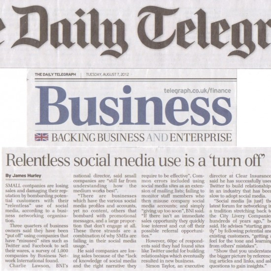 The Daily Telegraph - Business