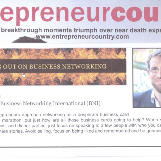 Entrepreneur Country