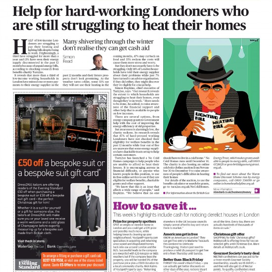 Evening Standard - On The Money