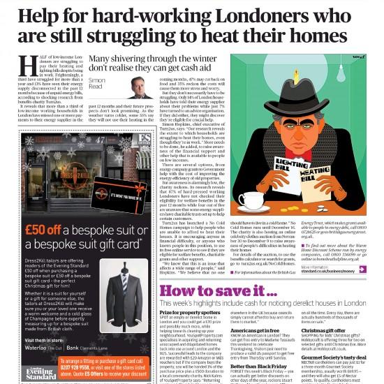 Evening Standard - On The Money