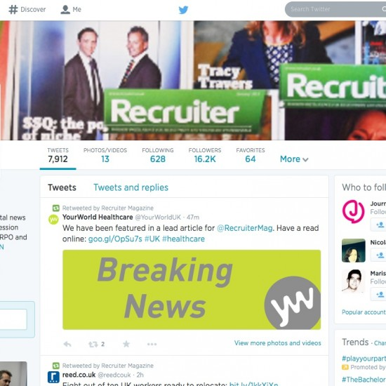 Recruiter - Twitter