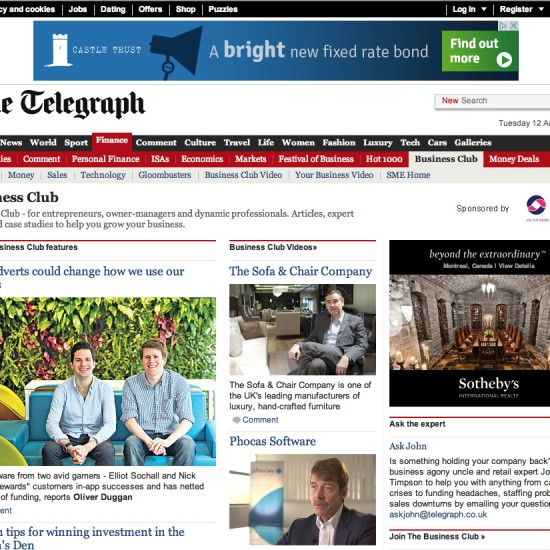 The Telegraph - Business Club