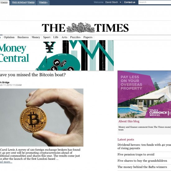The Times - Money Central